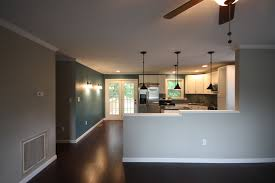 Cape Cod Kitchen Designs by Half Wall Between Kitchen And Family Room Maybe One Day