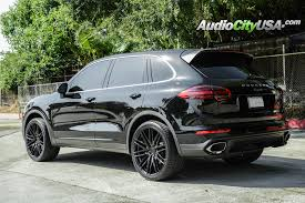 porsche cayenne black wheels 2016 porsche cayenne 22 niche wheels anzio m164 gloss black