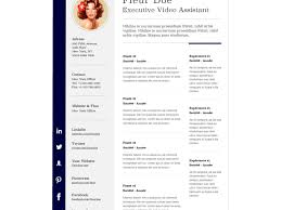 Css Resume Clever Design Pages Resume Templates 16 10 Free Professional Html