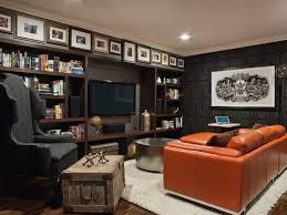 Man Cave Sofa by Man Cave Tv Wall Home Theater Contemporary With Wood Floor