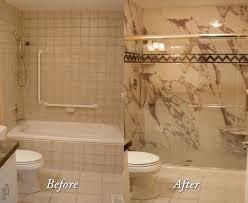 Bathroom Tile Remodel by One Day Bathroom Remodel Tile Meister