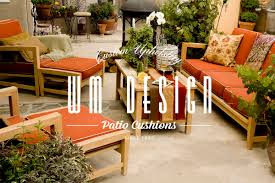 custom outdoor cushions replacement patio cushions los angeles