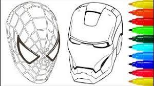 superheroes marvel villains coloring pages iron man hulk