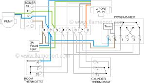 wiring diagram for underfloor heating and radiators underfloor