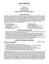 Perfect Job Resume by Linkedin Job Application Anna Stevens Pmba At Robinson