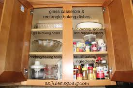 Kitchen Cabinet Organizing Baking Cabinet Organization As Jules Is Going