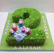 Peppa Pig Birthday Decorations The 25 Best Peppa Pig Birthday Cake Ideas On Pinterest Peppa