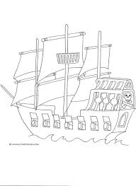 pirate colouring pages activity village pirate maps ideas