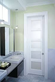 Etched Glass Interior Door Terrific Bathroom Best 25 Frosted Glass Interior Doors Ideas On