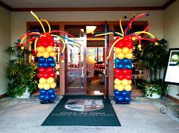 circus balloon the big top balloon wall for a circus themed wedding