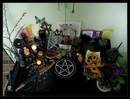 a witches altar how to decorate your altar for sabbats or