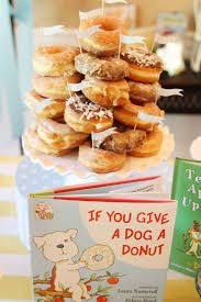 pan baby shower children s book themed baby boy shower donuts decorating and dog