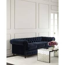 Navy Blue Sofas by Williams Sonoma Bond Chesterfield Sofa 5 295 Liked On