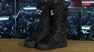 motorcycle boots review o u0027neal racing element motorcycle boots review video gallery
