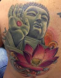 Fleur De Lotus Tattoo by Happy Buddha With Lotus Tattoo Design Photo 1 Tatts