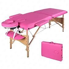 pink table l amazon com msg 84 l fold portable massage table spa beauty