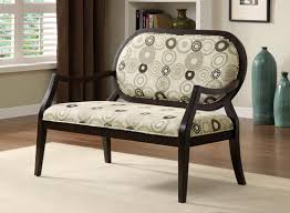accent bench living room buy furniture of america cm bn6930 cairns ii arm love seat bench