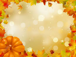 thanksgiving background image autumn pumpkins and leaves royalty free cliparts vectors and