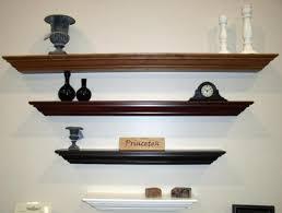 glass wall shelves shelf ideas photo wood decorating diy shelving