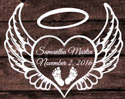 memory baby decal etsy