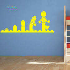 Kids Lego Room by Lego Evolution Decal Wall Sticker Lego Wall Art Vinyl Stencil Kids