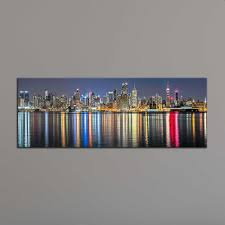 2017 unframe new york city canvas painting panoramic home decor