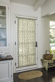 Curtains With Rods On Top And Bottom Rod Pocket Top Bottom In 16358 Cora Olive Door Kitchen