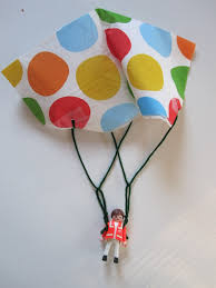 toy parachute craft no time for flash cards
