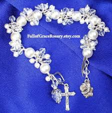 wedding rosary etsy rosary guild team swarovski pearl wedding rosary