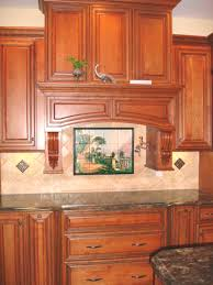 Kitchen Tile Backsplash Murals Kitchen Backsplash Ideas Lodge On Lake Como Tile Mural