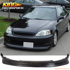 2000 honda civic spoiler aliexpress com buy cs style front bumper lip spoiler wing pu fit