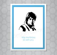 star wars birthday greetings funny illustrated star wars luke skywalker 40th birthday card