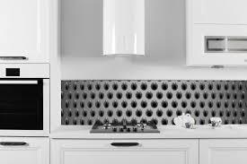 revetement mural cuisine credence crédence cuisine plus de 50 idées pour un intérieur contemporain