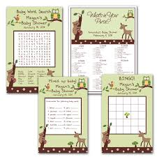 photo free printable baby shower games image