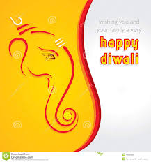 Invitation Cards For Ganesh Festival Abstract Diwali Celebration Background Royalty Free Stock Photos