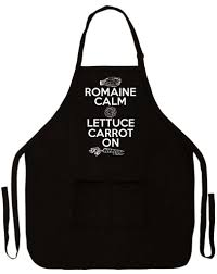Cute Aprons For Women Amazon Com Romaine Calm Lettuce Carrot On Funny Apron For Kitchen