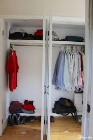 Diy Closet Door Diy Closet Door Makeover Bi Fold To Hinged Lehman