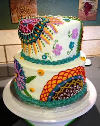 pictures on cakes hippie wedding ideas