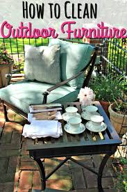 How To Clean Patio Chairs How To Clean Outdoor Furniture Without Going Patios