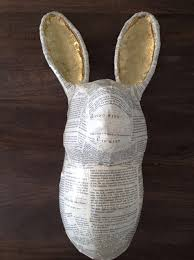paper mache rabbit how to create papier mâché animal heads snapguide