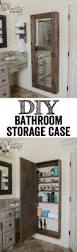 Bathroom Mirrored Cabinets by Awesome Diy Bathroom Mirror Cabinet For Some Extra Storage Space