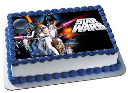 wars edible image wars cake topper wars birthday party wars