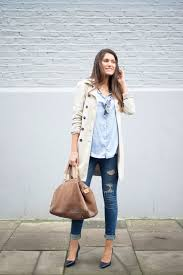 Abercrombie Ripped Jeans Gabardina Trench Zara Camisa Shirt Zara Jeans Abercrombie U0026 Fitch