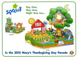 sprout is set to debut new float in the 86th annual macy s