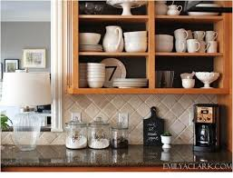 remove kitchen cabinet doors for open shelving solutions for renters kitchens centsational style how