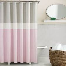Gray And Pink Curtains Pink And Gray Chevron Stripes Shower Curtain For The Home
