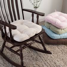 Rocking Chair Cushion Sets For Nursery Deauville 18 X 19 Tufted Nursery Rocker Cushion Hayneedle
