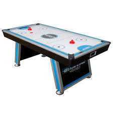 air powered hockey table triumph sports blue line air powered hockey table with in rail