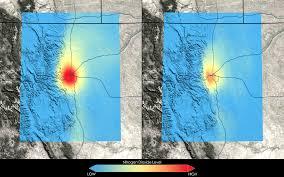 Air Quality Map Usa by New Nasa Images Highlight U S Air Quality Improvement Nasa