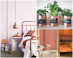 copper decorations teale copper and green decor home decor styles 2015 trend home